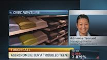 Would fade Abercrombie if own: Trader