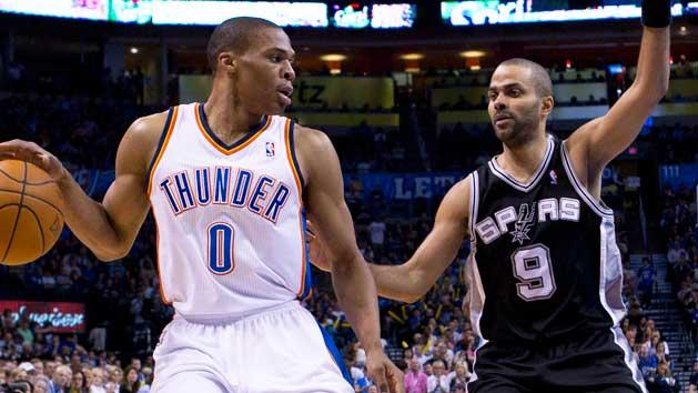 Point guard battle key for Spurs, Thunder