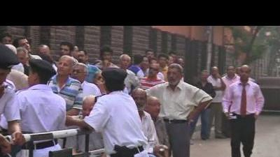 Voters head to the polls in Egypt