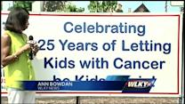 Celebration held to send kids off to Camp Quality
