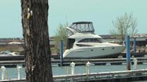 Whisky Island boat dock repairs after Superstorm Sandy