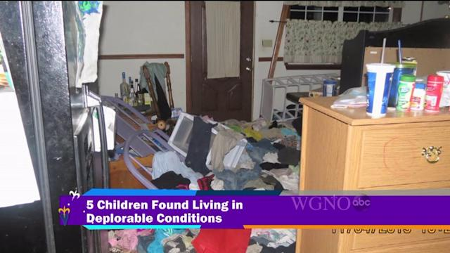 Five Children Found Living In Deplorable Conditions