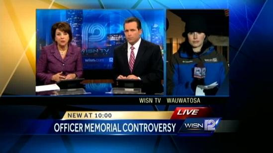 Fellow officers react to Officer Sebena not on Memorial wall