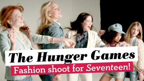 Go Behind-the-Scenes of the Hunger Games Fashion Shoot