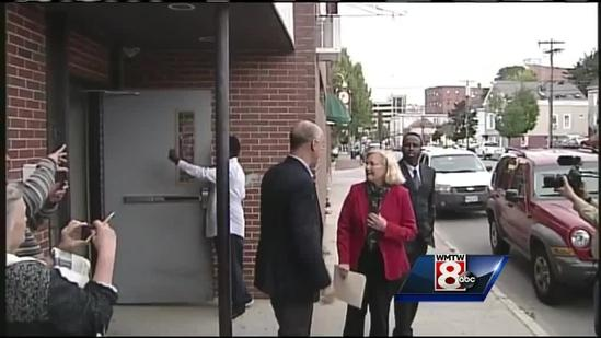 Rep. Chellie Pingree meets with leaders of Portland's Somali community