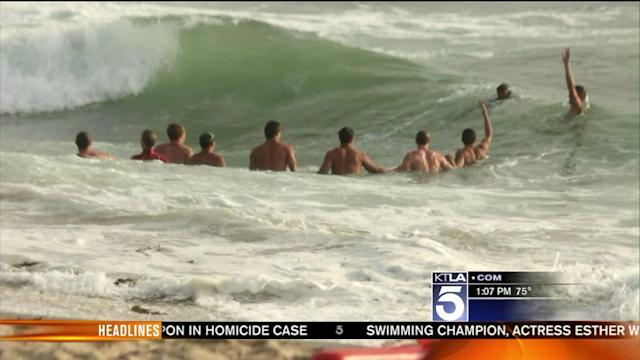 High Surf, Rip Currents Expected at Local Beaches