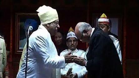 Sriniwas Patil takes charge as Sikkim Governor