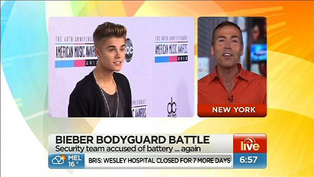 Bieber's security team in hot water