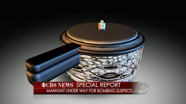 Suspect threw pressure cooker bomb at police during shootout