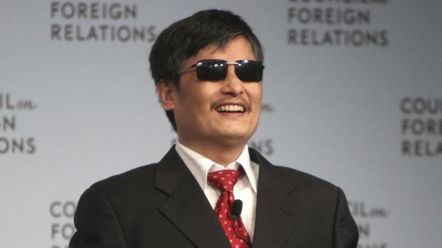 Chen Guangcheng: 'Historic transition' in China
