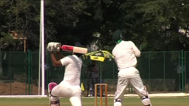 Aussies struggle in India tour match