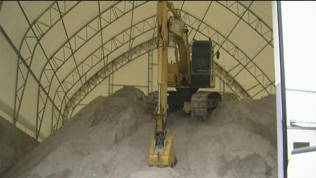 Tulsa City crews on stanby as snow and sleet chances increase