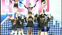 Cheerleading squad shows 'extreme heart'