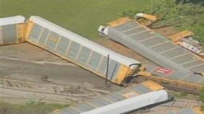 Witnesses: Tractor-Trailer Caused Train Derailment