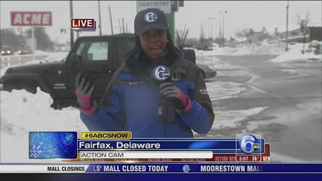 Melissa Magee on conditions in Fairfax, Del.