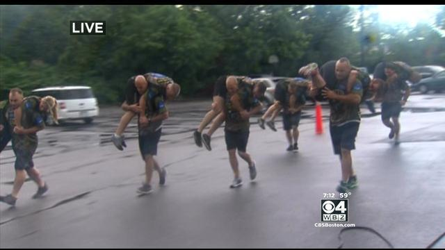 4 Your Community: Metro SWAT Fitness Competition At Gillette Stadium (Part 1)