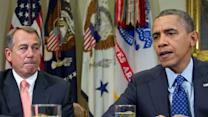 Obama, congressional leaders hold 'fiscal cliff' meetings