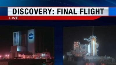 Discovery Prepared For Final Mission