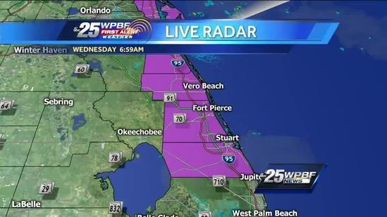 First Alert Forecast: Cloudy, breezy Wednesday expected