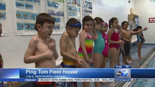 Chicago Park District attempts swim lesson record
