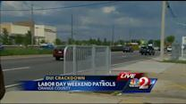 Law enforcement out in force to stop drunk drivers over holiday weekend