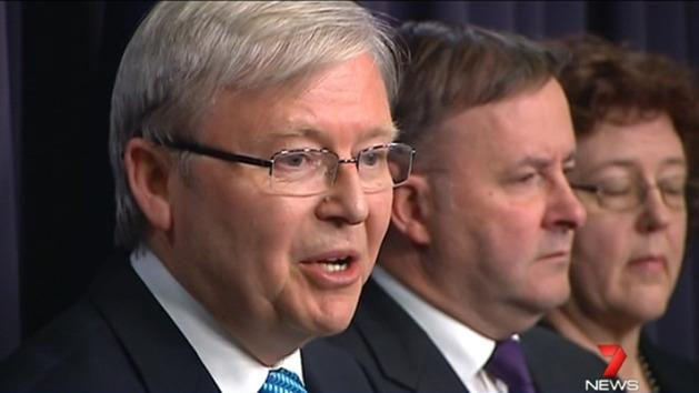 Rudd improving Labor's chances