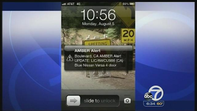 Lawmakers review AMBER Alert on cellphones
