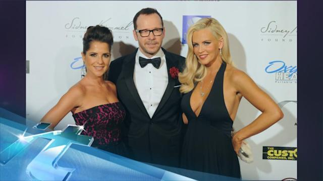 Jenny McCarthy And Donnie Wahlberg Make Red Carpet Couple Debut At Charity Cvent