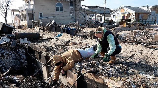 Debate over how to move forward post sandy