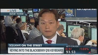 Keying Into Blackberry's Q10 Keyboard
