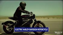 A quieter, electric Harley-Davidson