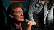 Hoff Lends Star Power to Berlin Wall Campaign