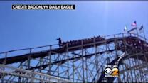 On First Public Ride Of Season, Coney Island Cyclone Gets Stuck