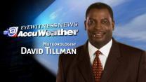 David Tillman's Wednesday weather forecast