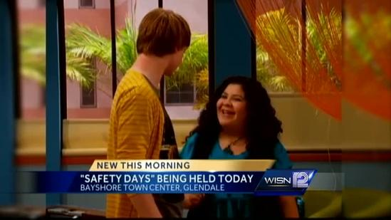 Disney Channel star Calum Worthy visits Wisconsin