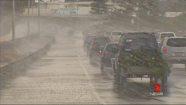 Severe weather warning for Perth