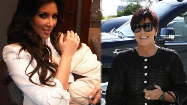 Kris Jenner Reveals Baby North West Pictures