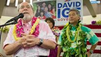 Hawaii's Governor Defeated In Primaries Clouded By Storms