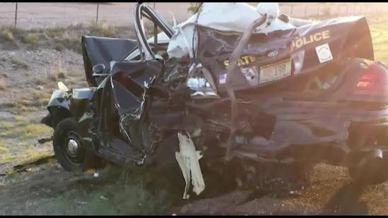 Officer injured in serious DWI crash sits down with KOAT