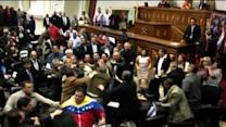 Fistfight breaks in Venezuela's congress