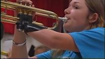 3-D-printed prosthetic made for band student