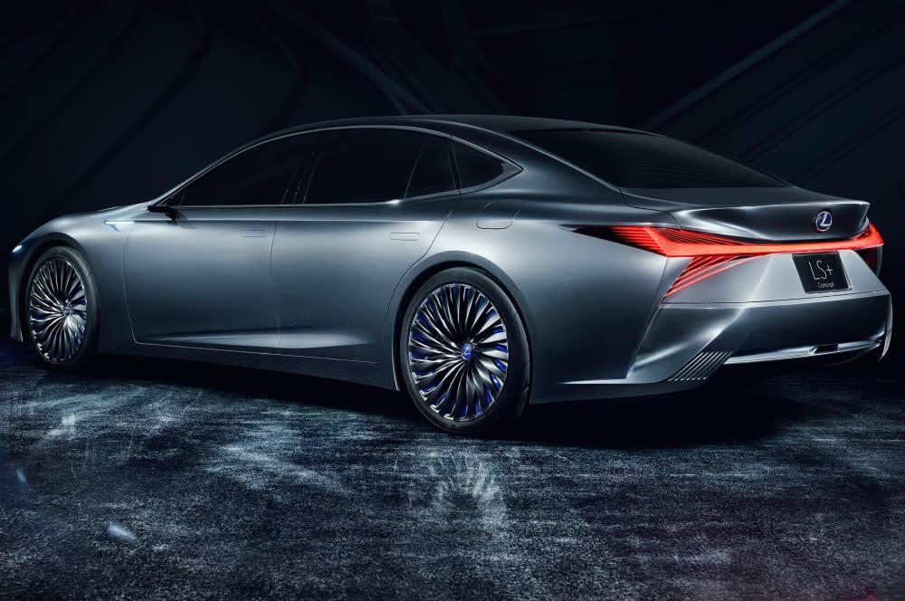 展望未來 預計2025年達成全面自動駕駛 Lexus LS+ Concept