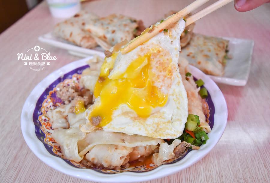 逢甲早午餐 炒餅條 古早味蛋餅 食尚玩家10