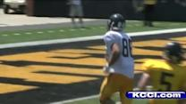 RBs held out of Iowa scrimmage