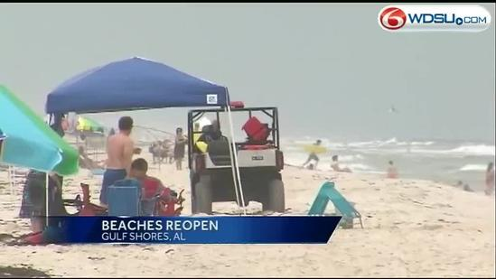 Body of 4th drowning victim found in Gulf Shores