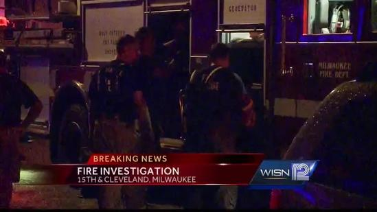 Milwaukee police investigate Thursday night house fire