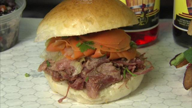 Mr. Spanky's offers artisan Bridgeport food