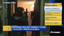 CNBC update: Terror arrests in Spain