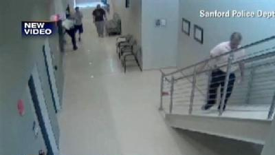 Video Shows Zimmerman At Sanford PD