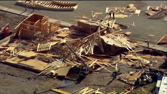 Nearly Completed Church Destroyed in Tornado